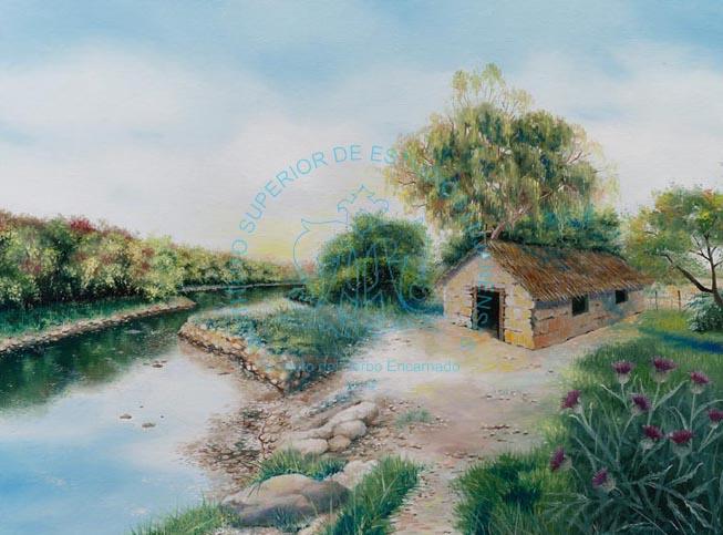 La ermita en la estancia de Rosendo